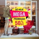comunicação visual de loja valor Vila Albertina