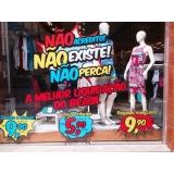 comunicação visual para comércio preço Parque Santa Madalena