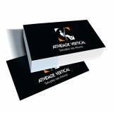 impressão de cartão de visitas Jardim das Acácias