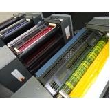 impressão digital offset preço Campo Belo