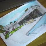 onde encontro plotagem colorida para arquitetura Pompéia